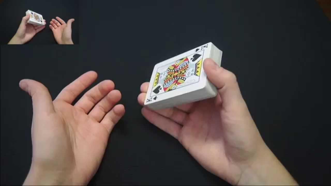 Jak opanować tasowanie kart - Riffle, Hindu