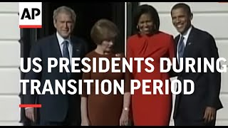 Former US presidents during transition period