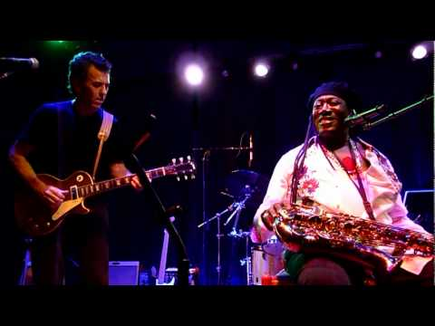 Clarence Clemons Dies - Played In Mill Valley, October 2010
