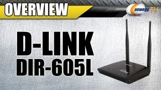 Newegg TV: D-Link DIR-605L Wireless Cloud Router Overview