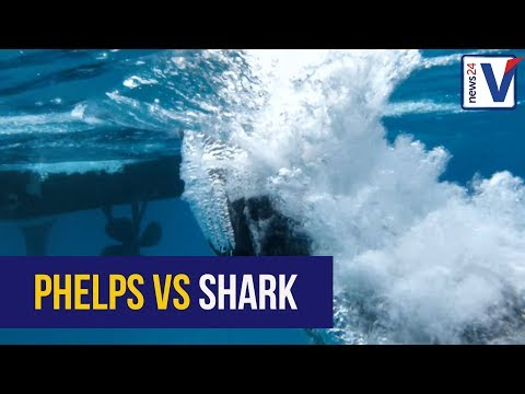 WATCH: Michael Phelps vs Shark