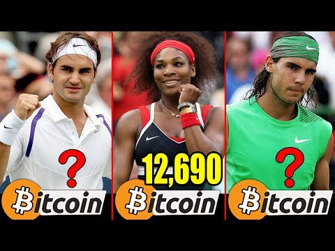 Bitcoin - Richest Tennis Players in The World Bitcoin Worth - Crypto Currencies - 동영상