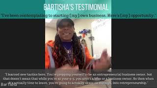 Testimonial Video - BarTisha W.