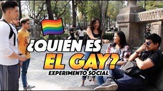¿Quién es el gay? EXPERIMENTO SOCIAL - QUEFISHTV