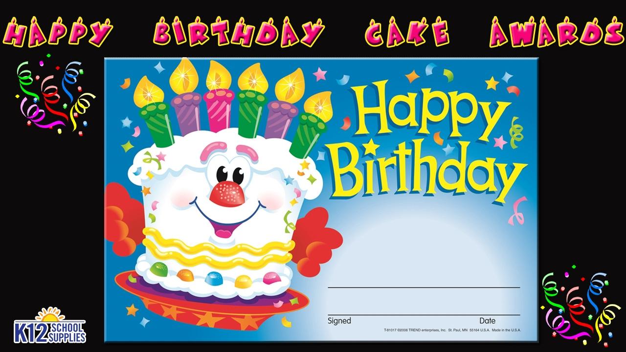 Best Happy Birthday Certificate Best Birthday Certificate