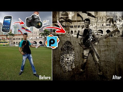 Hollywood Style Photo Editing In PicsArt | Step By Step Tutorials