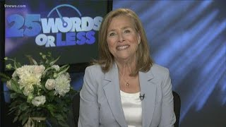 Meredith Vieira talks about new game show '25 Words or Less'
