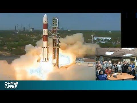 Lanzamiento completo de SUCHAI, el primer satélite hecho 100% en Chile
