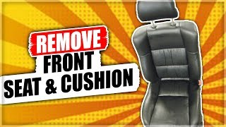 How to Remove the Front Seat & Cushion on Lexus ES300