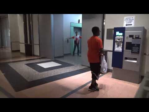 Otis series 1 elevators at exchange plaza mall in Downtown Ottawa