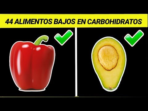 44 Alimentos BAJOS EN CARBOHIDRATOS (No Todos son Cetogénicos)