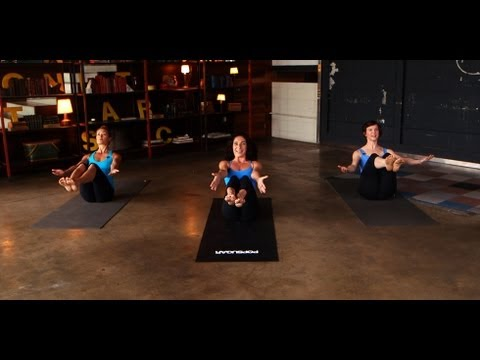 Jennifer Aniston Yoga Workout | Mandy Ingber's Yogalosophy | Class FitSugar