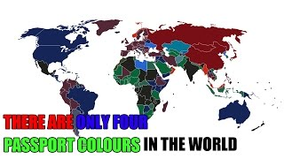 THERE ARE ONLY FOUR PASSPORT COLOURS IN THE WORLD