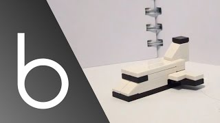 How To Build A Mini Lego Space Shuttle