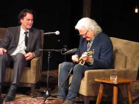 Ricky Skaggs Picking Mandolin at Country Music Hall of Fame