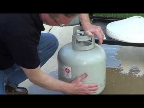 How Much Propane in Tank - Easy Test to Check Propane Level