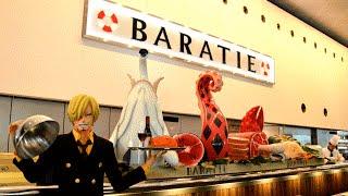 BARATIE RESTAURANT IS REAL! @ FUJI TV building - ODAIBA お台場 TOKYO 東京 JAPAN