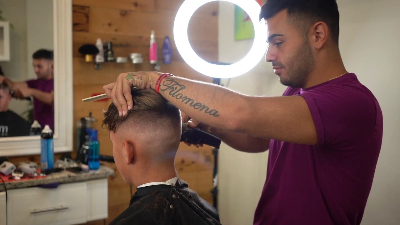 A look into Kings Of The Craft Barbershop