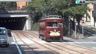 長崎電気軌道160形「鉄道の日」記念運転シーン