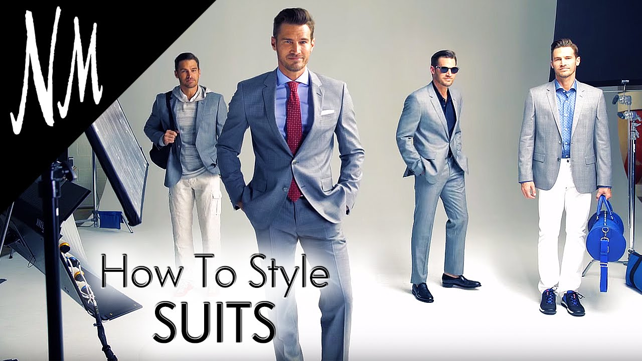 Mens Fashion Tips How To Wear A Suit Neiman Marcus Youtube