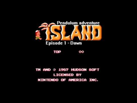 Pendulum  - The Island in 8BIT!