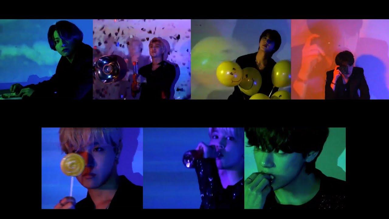 방탄소년단 - Butter 컨셉 클립 전멤버 (정국 알엠 진 슈가 제이홉 지민 뷔) BTS - Butter Concept Clip Members All