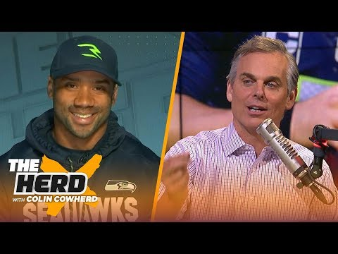 Russell Wilson talks new roughing-the-passer rules, State of the Seahawks | NFL | THE HERD