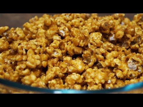 Домашний карамельный попкорн
