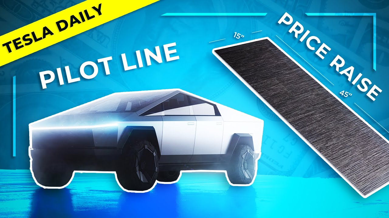 Tesla Cybertruck Pilot Line + Huge Solar Roof Price Increase, Boring Co Update
