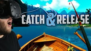 Catch and Release - The VR Fishing Simulator - Giant Fish & Secret Catches - Catch and Release VR