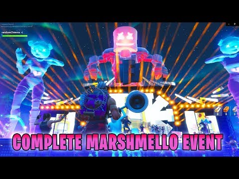 Full MARSHMELLO Live-Event (in-game view) Fortnite | 10 Minute Showtime Marshmello Concert