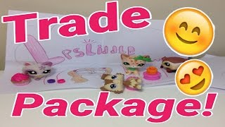 lps trade package with lps sweet feet shorthair crouching cat ferret and more