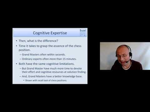 Cognitive Psychology 08 - Problem Solving & Expertise - Part 4 (Expertise)