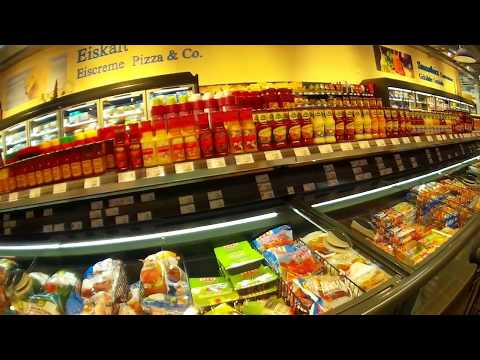 Shopping Inside a Regular German Supermarket