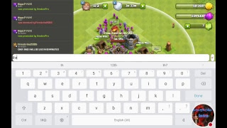 My Clash of Clans Stream live friendly attacks