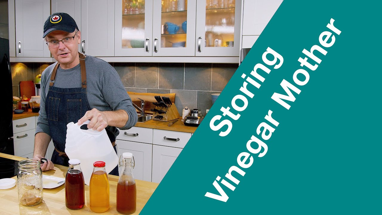 How To STORE Vinegar MOTHER