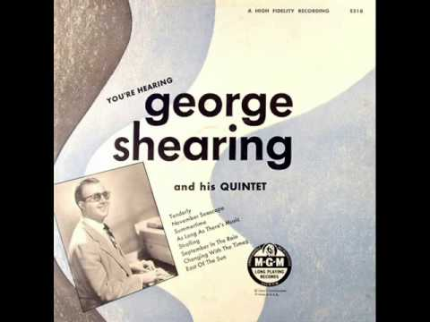 George Shearing Original Quintet - East of the Sun / As Long as There's Music