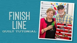"""Make a """"Finish Line"""" Quilt with Jenny!"""