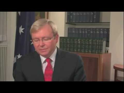 Kevin Rudd's message to you