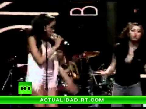 Amy Winehouse, en su última aparición sobre un escenario