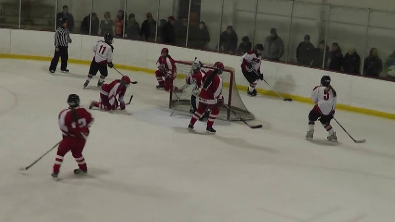 Beekmantown - Saranac Lake Girls Hockey  1-30-13