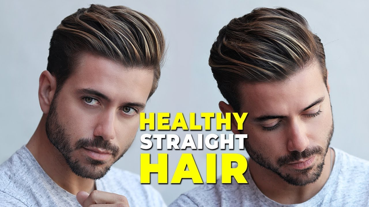 How To Have Straight Healthy Hair From Curly To Straight At Home