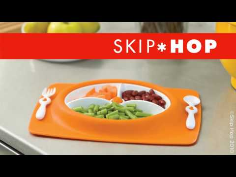 Skip Hop Mate stay-put mat & plate