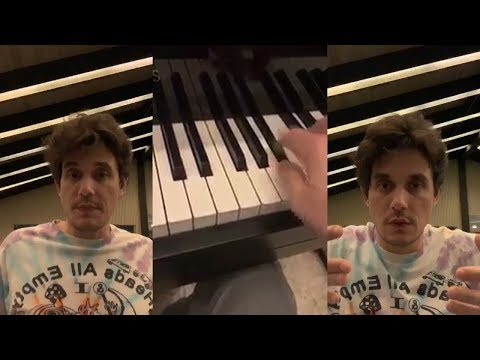 John Mayer Plays Piano  Live On Instagram  - February 3 2019