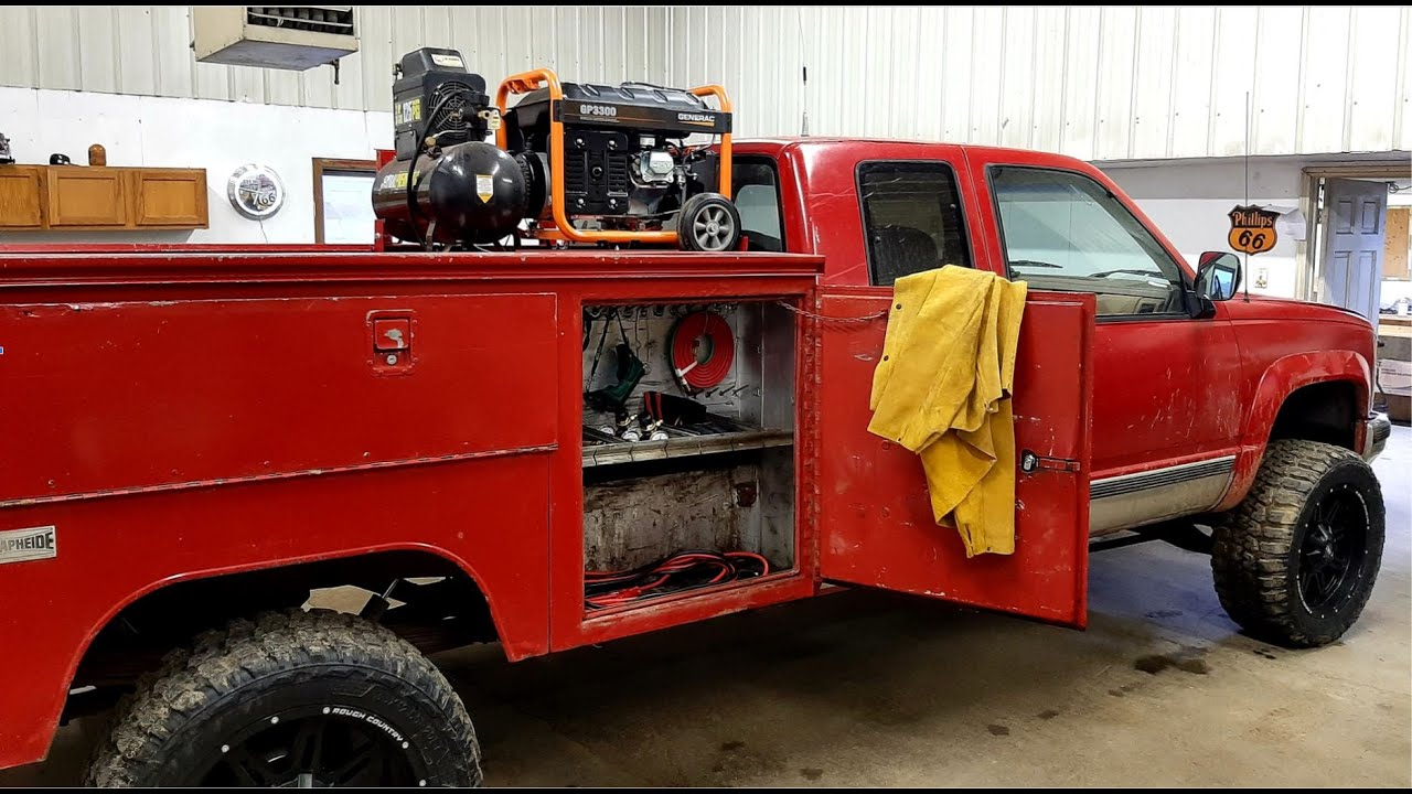 Chevy Service Truck Gets a Generator, Compressor, and Torch - Vice Grip Garage EP64