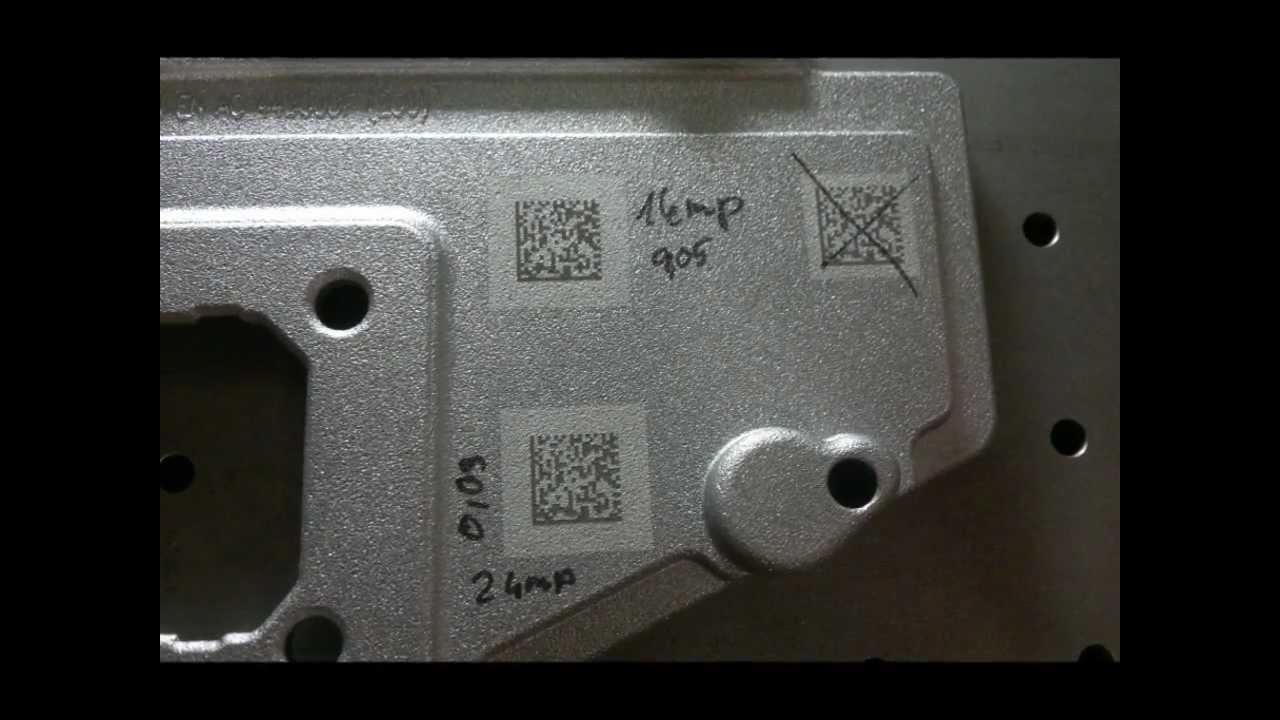 Datamatrix Code Laser Engraving Datamatrix K 243 D
