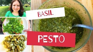 How To Make Basil Pesto - Mediterranean Diet