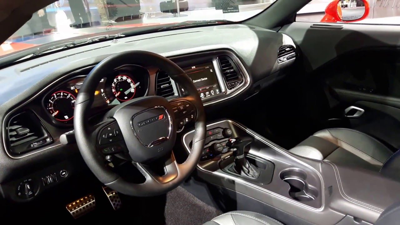 2016 Dodge Challenger Sxt Interior Walkaround Youtube