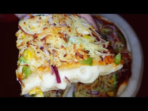Dominos Style Homemade Cheese Burst Pizza Recipe|Cheese Burst Pizza Step by Step Recipein Hindi