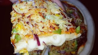 Dominos Style Homemade Cheese Burst Pizza Recipe|Cheese Burst Pizza Step by Step Recipe in Hindi